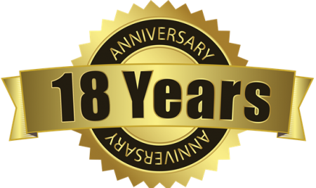 Celebrations Begins for 18 Years of Trusted Service for Industry